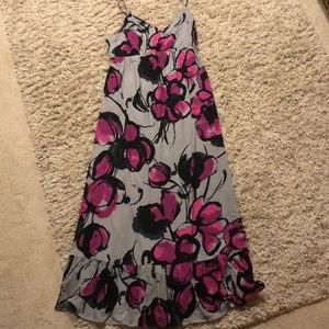 Old Navy Maternity Floral Maxi Dress